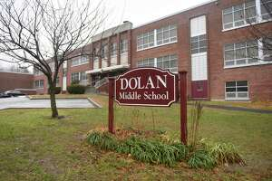 Dolan Middle School in Stamford was closed on Monday due to flooding caused by a fire pump malfunction in the boiler room.