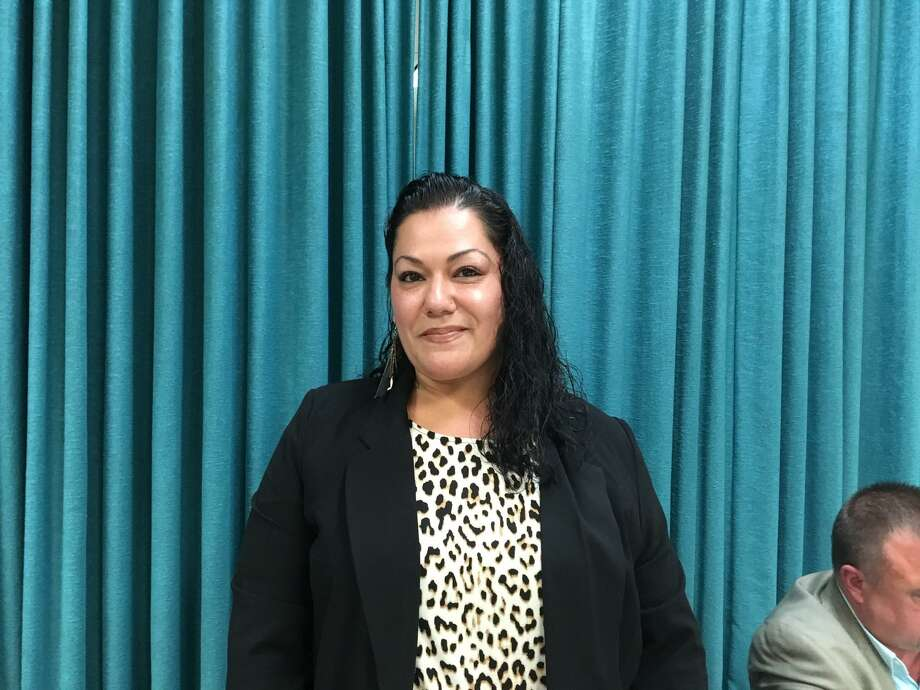 Jessica Martinez, new Bridgeport Board of Education chair. Dec. 9, 2019 Photo: Linda Conner Lambeck