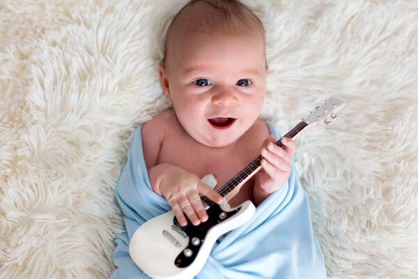 """Most popular baby names shared by famous musicians The reasons behind popular taste in names can be difficult to pin down. Aconsiderable amount of cultural tradition in the U.S. can be traced to Britain, where conventional names such as William, John, Anne, or Elizabeth harken back to a long history. Those names were in use by established, secure families and tended to be passed down. Then came the Industrial Revolution, with its social upheavals and increased literacy. Many people didn't limit themselves to naming children after their elders;they read books and encountered character names in novels by authors such asCharles Dickens. He's said to be responsible for the trend in floral names for girls in the Victorian era, like Flora, Daisy, and Rose. Today, parents have access to nearly every name ever given, via Google searches and baby name generators. Stackerzeroed inon the overlap between popular baby names and famous musicians who were given those names. It may be interesting to contemplate whether parents were influenced to name their child after an admired musician or if there's any credence to the theory of nominative determinism. In other words, how much influence does the name a person is given affect what they become in life? Does being named Tommy make a boy more likely to be a drummer, or Mick more likely to produce a guitarist? Stacker presents the top 50 most popular baby names shared by famous musicians using Behind the Name's list of notable musicians and the Social Security Administration's 2018 name popularity rankings. Ties were broken by the names' popularity or the number of babies given those names. Take a look at the list and consider the origins and meaning of these 50 most popular names shared by famous musicians. It might be too late to turn your Adele away from her planned career in accounting, but if her middle name is """"Billy,"""" she might be a songwriter yet. You may also like: These baby names are going extinct This slideshow was first p"""