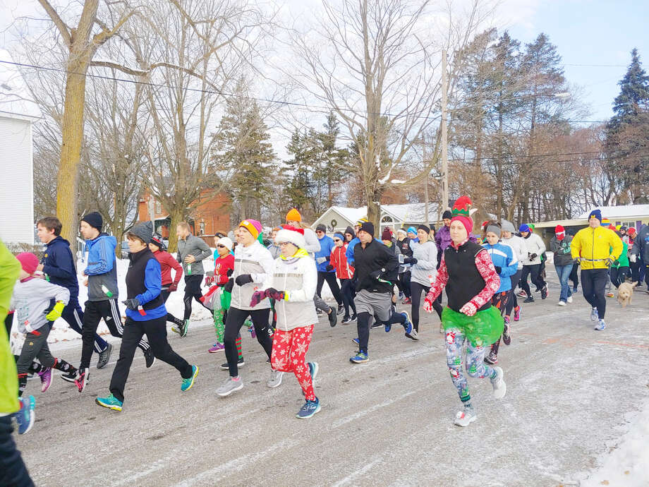 More than 130 people participated in the annual Jingle Bell Jog 5K over the weekend. Photo: Courtesy Photo