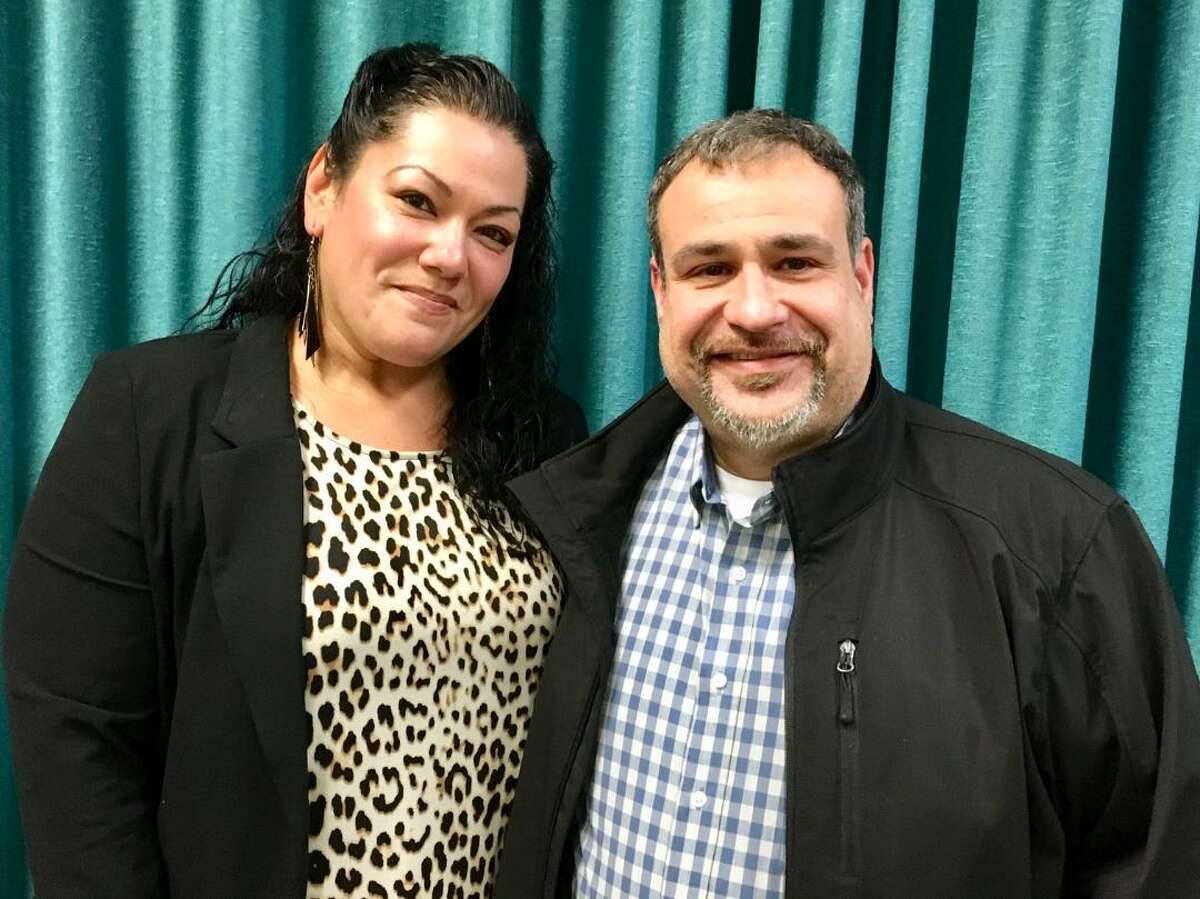 Jessica Martinez and Hernan Illingworth, new Bridgeport board of education chair and vice chair. Dec. 09, 2019