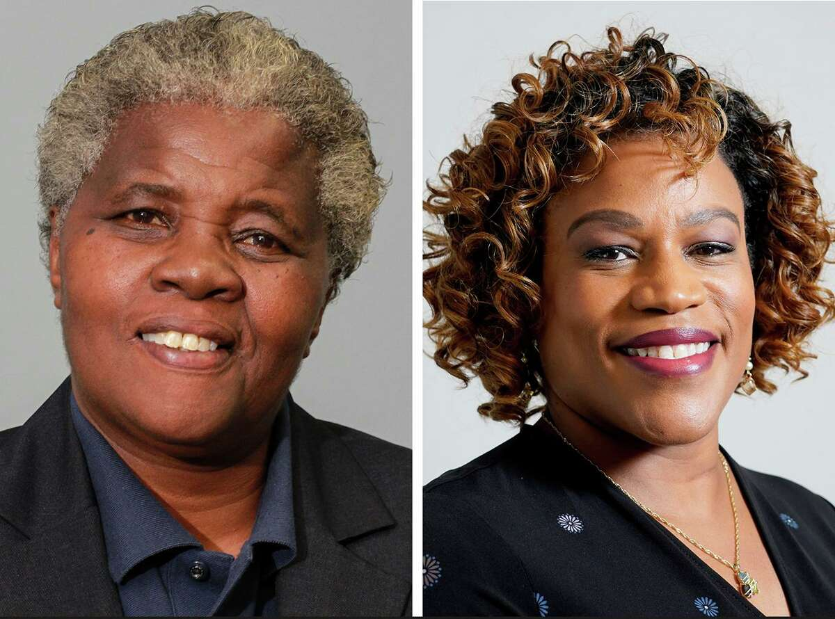 Cynthia Bailey, left, and Tarsha Jackson, right, were the top two vote-getters for the District B city council seat in the Nov. 5 general election.