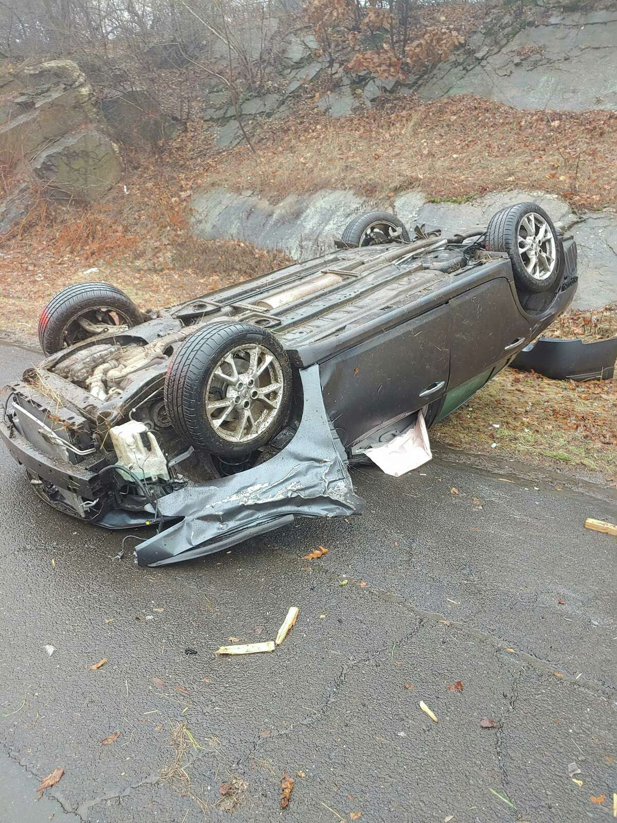 Just after 10 a.m. on Monday, Dec. 9, Echo Hose Hook & Ladder Co. 1 and Huntington Fire Co. 3 responded to a motor vehicle accident rollover on Route 8 southbound a half mile prior to exit 12.