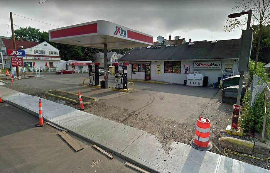The Xpress Mart on Wakelee Avenue was robbed on Monday, Dec. 9, 2019 by three armed suspects wearing dark clothing. Photo: Google Street View Image