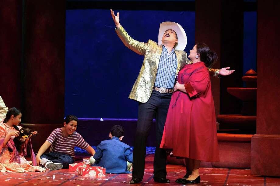 """Houston Grand Opera stages the mariachi opera 'El Milagro del Recuerdo"""" Photo: Lynn Lane"""