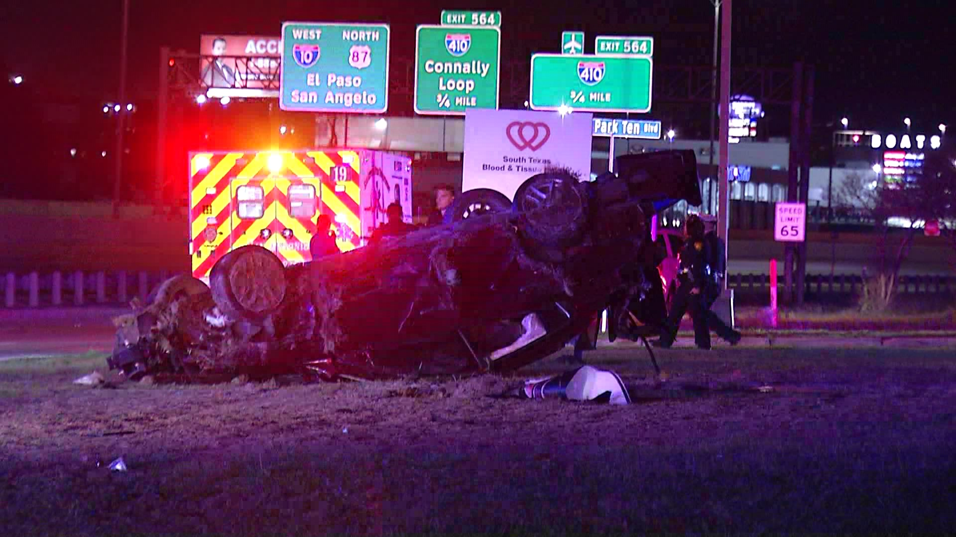 One man is dead after a single vehicle rollover on the East Side