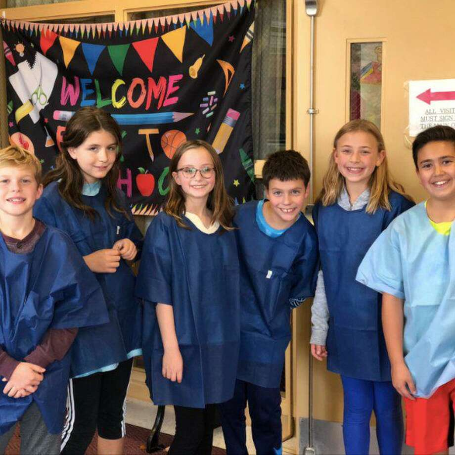 Scotland Elementary fifth graders organized and ran the Little Doctors Blood Drive in November, where they collected 67 pints of blood. Scotland was the first school in Connecticut to participate in this program six years ago. To date, students have collected more than 550 pints of blood. Photo: Twitter Photo