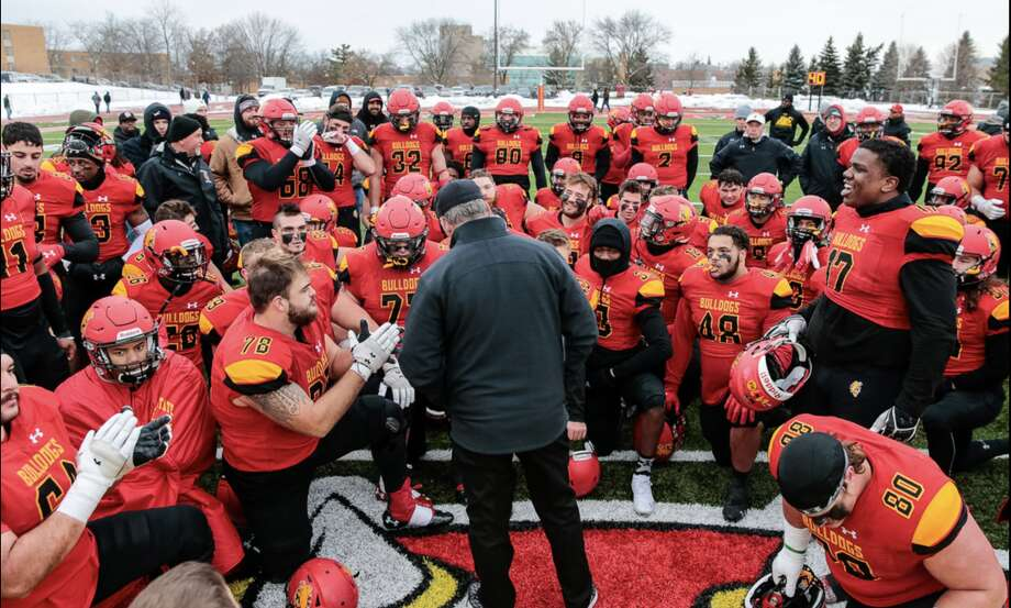 The Ferris State University Bulldogs will host a NCAA Division II Football National Semifinal as the Bulldogs face West Florida on Saturday. Photo: Photo Courtesy Of Ferris State University