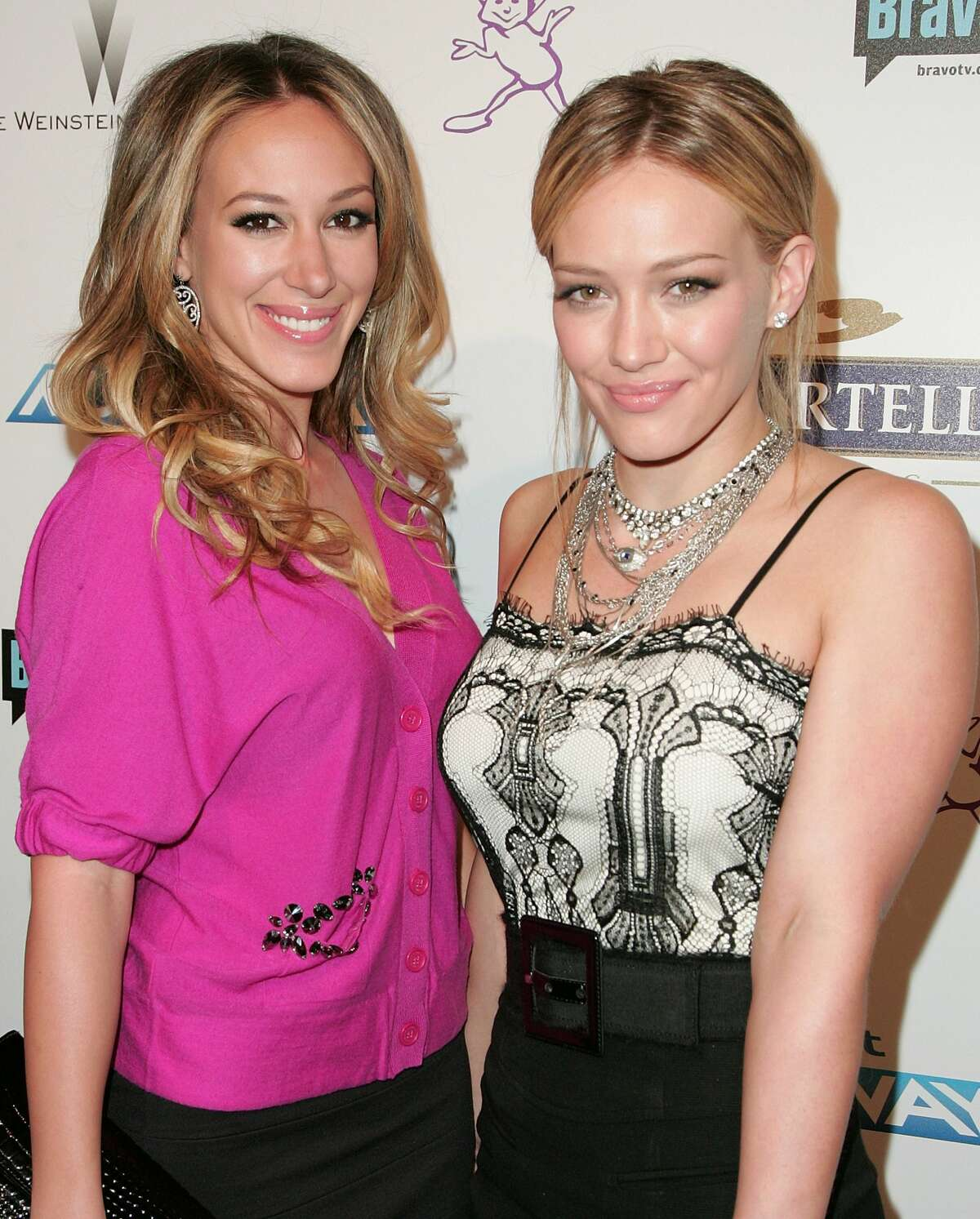Sisters Hilary and Haylie Duff were born in Houston. They moved to California with their mother to pursue their acting careers, while their father remained in Houston to maintain the family business: a chain of convenience stores.