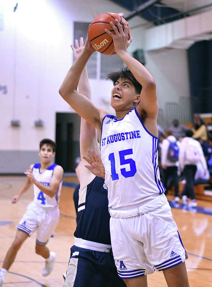 Freshman Chris Ramirez is averaging 9.6 points and 9.1 rebounds per game for St. Augustine this season. Photo: Cuate Santos /Laredo Morning Times File / Laredo Morning Times
