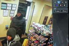 Detectives are investigating a motor-vehicle theft that occurred on Dec. 2, 2019 on Penny Lane inn Norwalk. Detectives are requesting assistance with identifying the three male suspects.