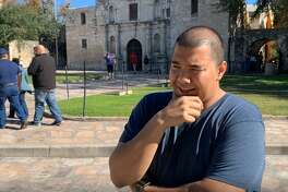Michael Reyes, from Tysons Corner, VA., recalls the Battle of the Alamo.