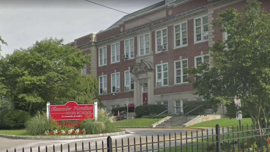 Alexander Hamilton High School in Elmsford, N.Y. Photo: Google Maps