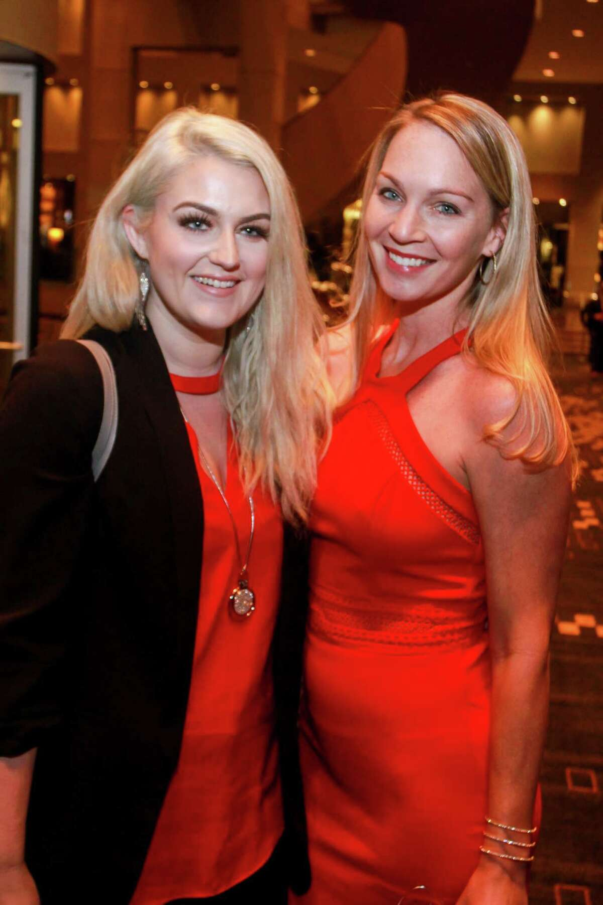 Rebecca Chiasson, left, and Pysha Motes at Spec's Vintage Virtuoso hosted by Spec's Charitable Foundation, and benefiting the Houston Symphony, at Royal Sonesta Hotel on December 4, 2019.