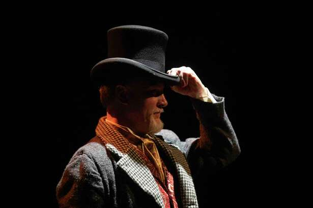 "Dick Terhune stars in a one-man production of ""A Christmas Carol."""