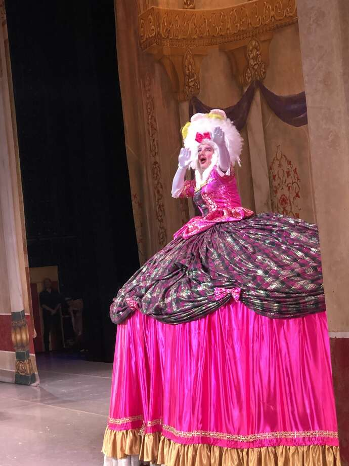 "KENS-5 weather chief Bill Taylor starred in Ballet San Antonio's version of ""The Nutcracker"" over the weekend. Taylor played Mother Ginger. Photo: Bill Taylor"