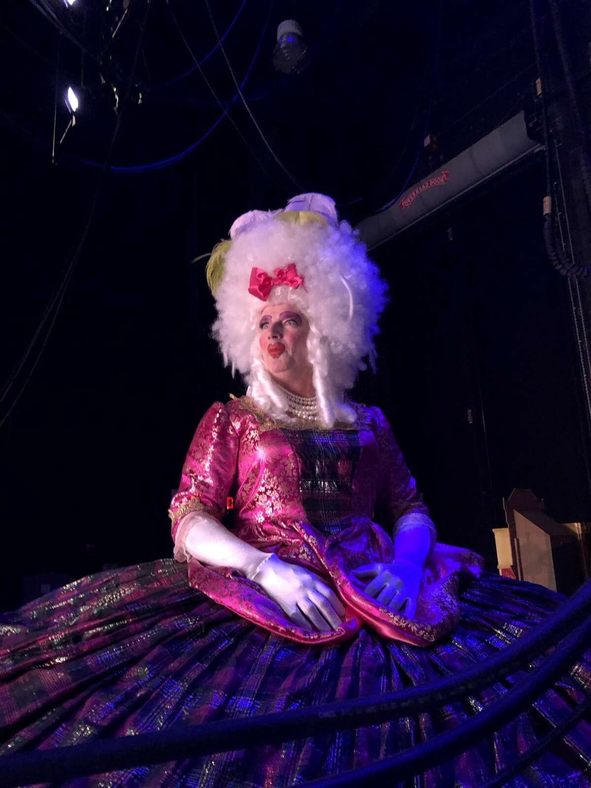 """KENS-5 weather chief Bill Taylor starred in Ballet San Antonio's version of """"The Nutcracker"""" over the weekend. Taylor played Mother Ginger."""