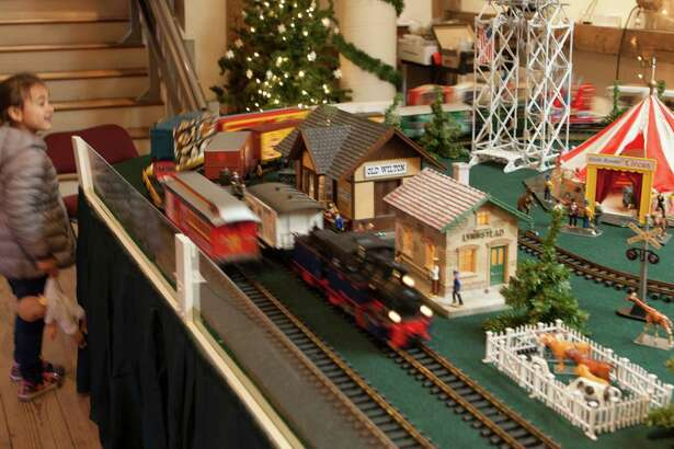 The Great Trains Holiday Show runs through Jan. 20 at the Wilton Historical Society, 224 Danbury Road, Wilton. For more information, visit wiltonhistorical.org.