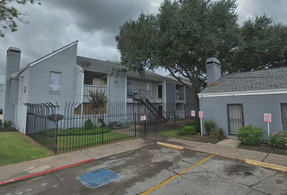 An apartment complex in the 7700 block of Corporate Drive is seen on Google Maps Street View in September 2018. Photo: Google Maps