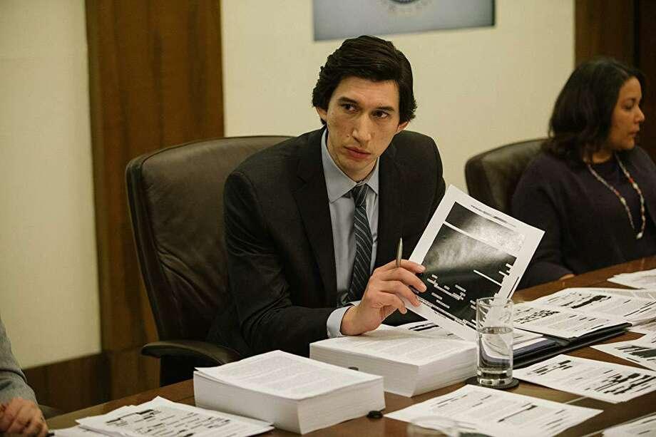 """Adam Driver stars in """"The Report."""" Photo: Amazon Studios/ Contributed Photo"""