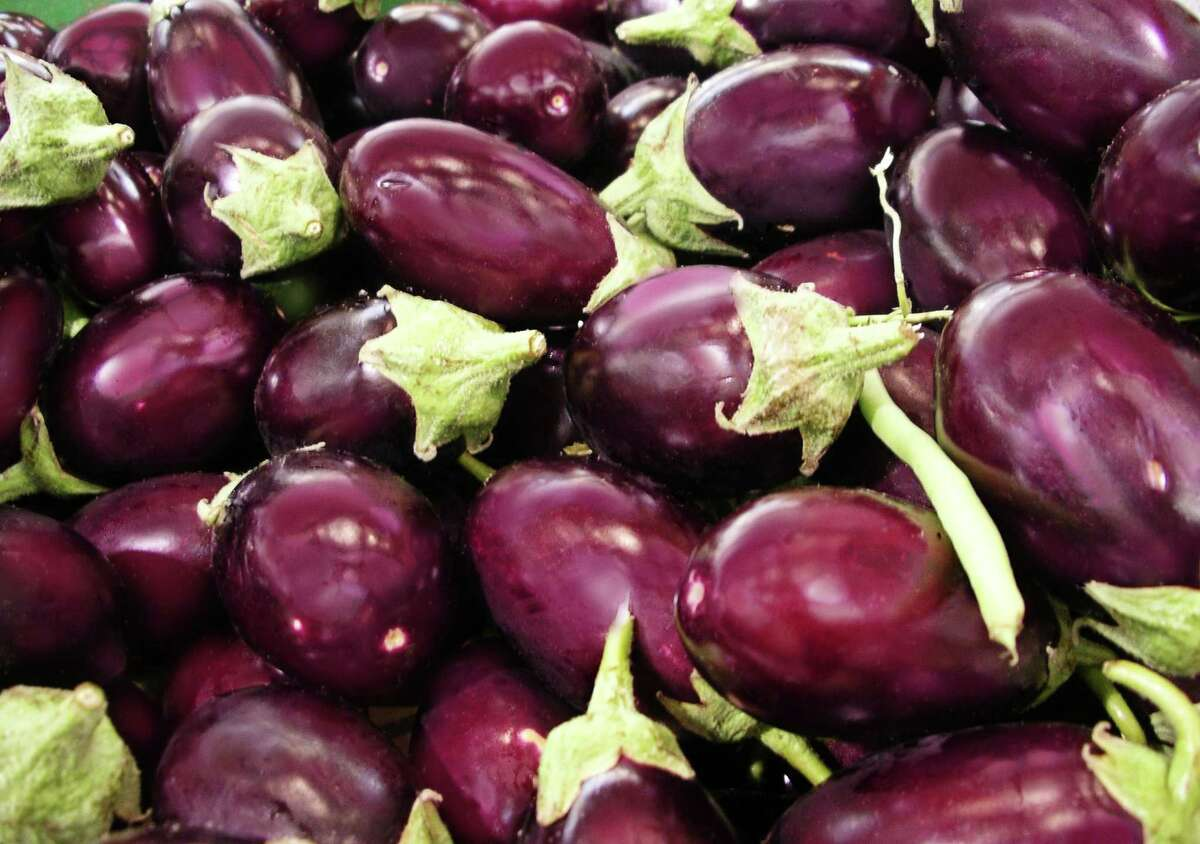 Eggplants are a key ingredient in the Christmas Compote.