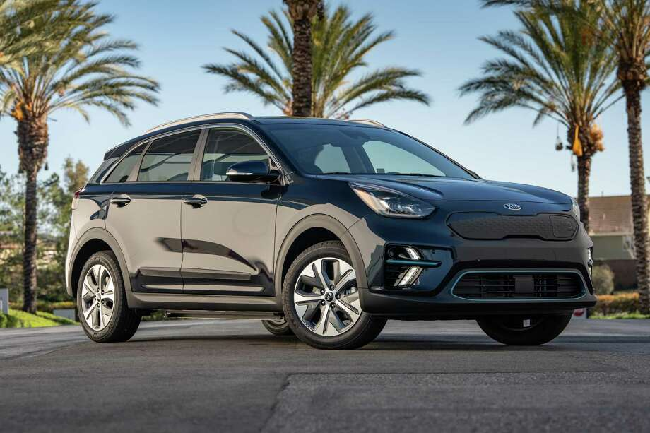 The Niro, introduced in 2019, is a subcompact crossover that's available with gasoline-electric hybrid and all-electric power. Photo: Kia Media / Contributed Photo /