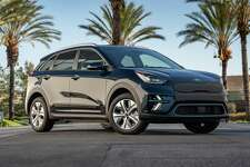 The Niro, introduced in 2019, is a subcompact crossover that's available with gasoline-electric hybrid and all-electric power.