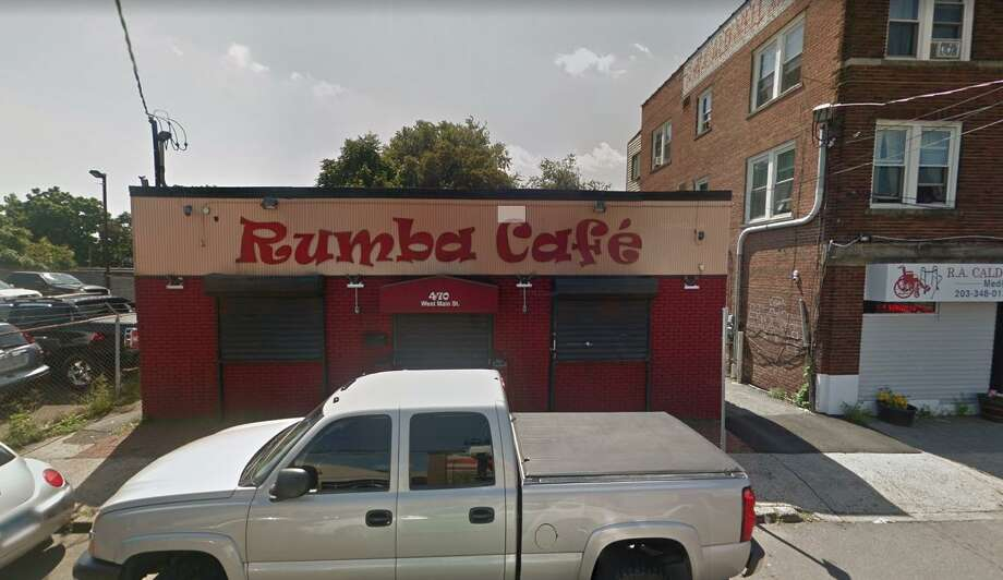 The bar manager of Rumba Cafe, 470 West Main St., was charged with illegal sale of alcohol on Dec. 8, 2019 after a Stamford police officer discovered the bar's liquor permit had expired. Photo: Google Maps