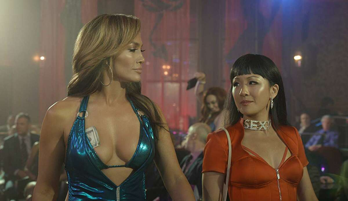 Jennifer Lopez (left) and Constance Wu in are partners in crime in