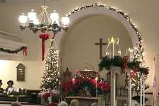Roxbury Congregational Church will offer a Victorian Christmas service Dec. 15, 2019 at 5 p.m. The service, complete with a sanctuary adorned with evergreen, seasonal ribbons and lights.