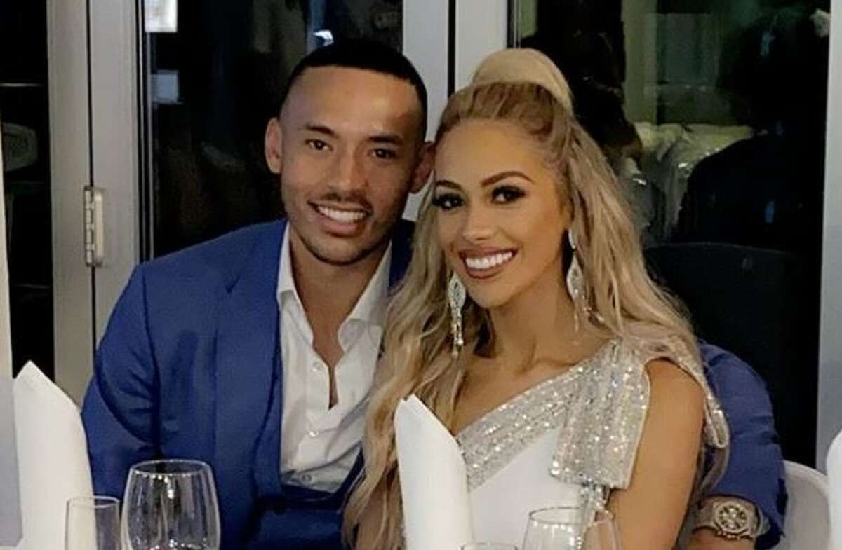 Carlos and Daniella Correa are expecting their first child.