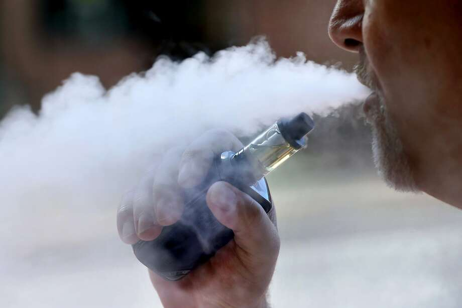 The City of Palo Alto is considering a fine for people vaping in public. Photo: Robert F. Bukaty / Associated Press