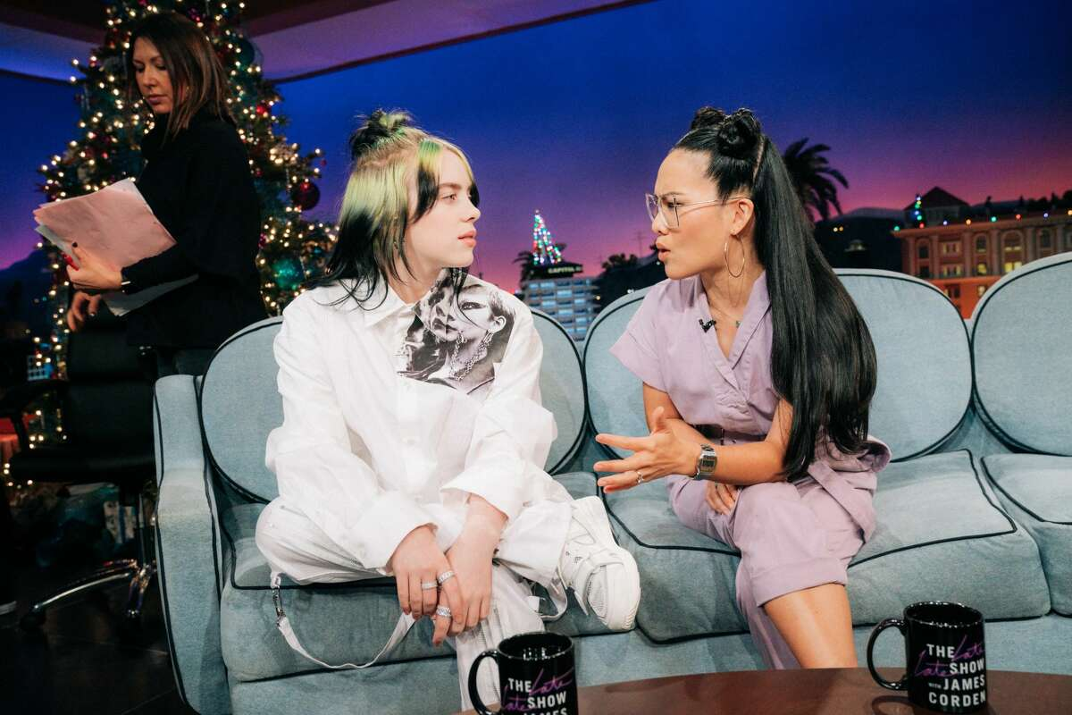 Alicia Keys guest-hosts The Late Late Show with James Corden airing Monday, December 9, 2019, with guests Ali Wong and Billie Eilish.