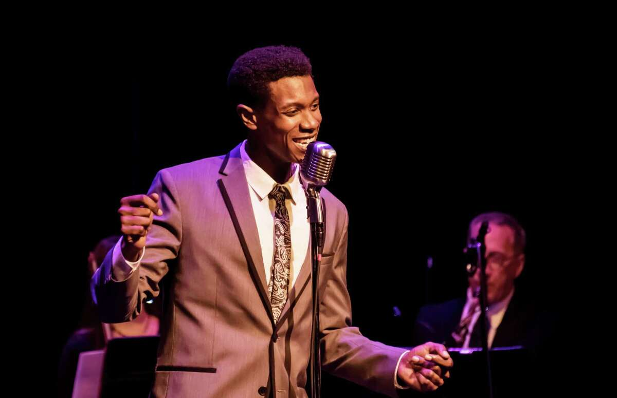 Evan Tyrone Martin as Nat King Cole in concert.
