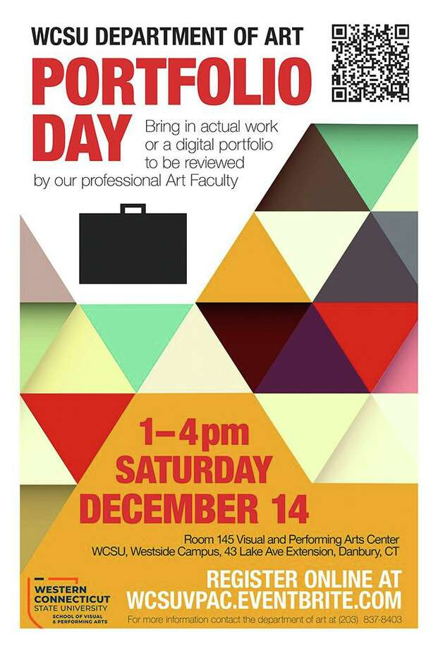 """The Western Connecticut State University Department of Art will offer an opportunity for students interested in pursuing an education in art and design to have their works reviewed by members of the WCSU art faculty during a """"Portfolio Day"""" session Dec. 14. Photo: WCSU / Contributed Photo"""