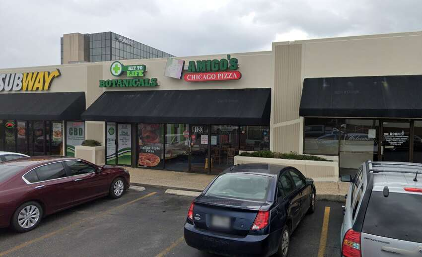 Amigo's Chicago Pizza: 8120 Fredericksburg RoadDate: 12/09/2019 Score: 77Highlights: Inspectors observed a meatball and sauce on the stove top not to temperature. The dough mixer had built up food debris. The faucet at the three-compartment sink was leaking. The cold hold unit holding pizza ingredients was at 50 degrees instead of the mandated 41 degrees or below.