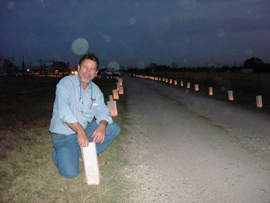Jerry Bernhardt invites you to celebrate Winter Solstice this Saturday at Bernhardt Winery from 1 p.m. until 8 p.m. Over 1,000 luminaries will illuminate the hay rides around the vineyards. Photo: Courtesy Photo