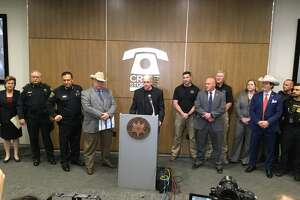 U.S. Marshals announced on Tuesday the arrests of hundreds of gang members in Houston during Operation Triple Beam.