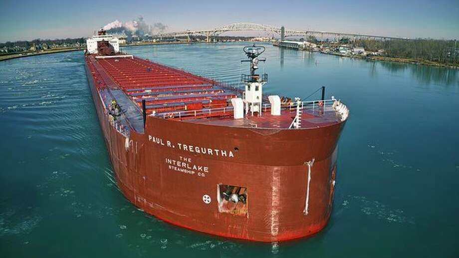 The 1,013.5-foot Great Lakes freighter Paul R. Tregurtha is the largest freighter operating on the Great Lakes. (T. Shaw Photography/Courtesy Photo)
