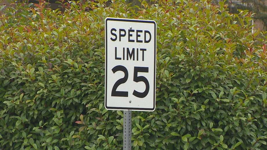 Speed limits on city streets will be dropping to 25 mph as part of an overall $20 million plan to increase safety on city streets. Photo: KOMO Photo