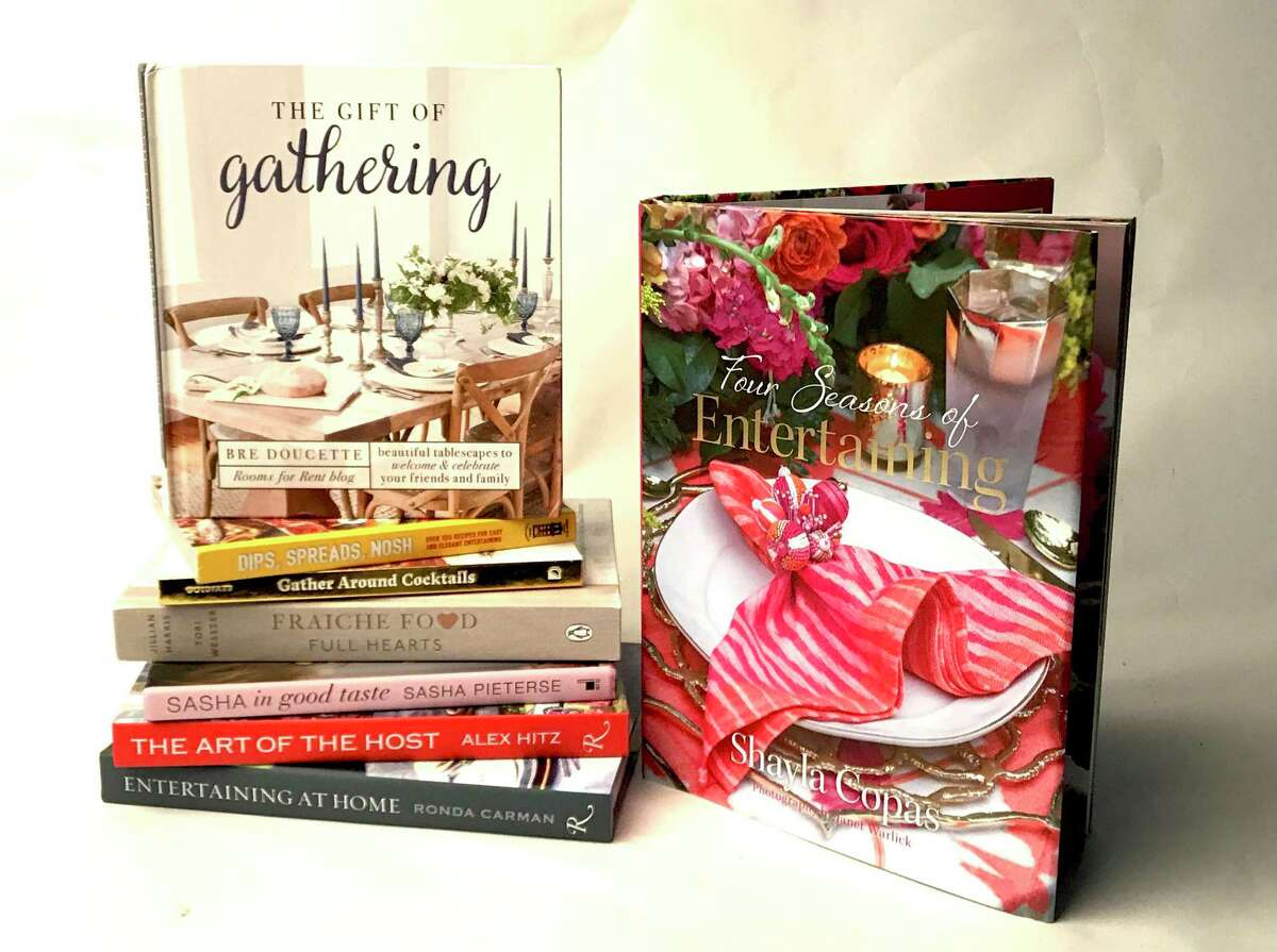 Eight entertaining books to guide you to soiree success.