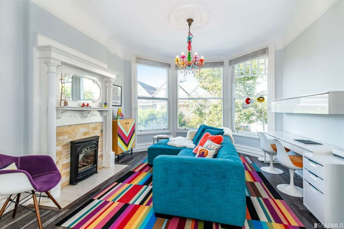 In San Francisco's Castro village, a two-bedroom, two-bathroom Victorian condo at 29 Hartford St. blends tasteful updates with original details.