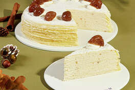 Marron Mille Crepe Cake-Courtesy Lady M New York