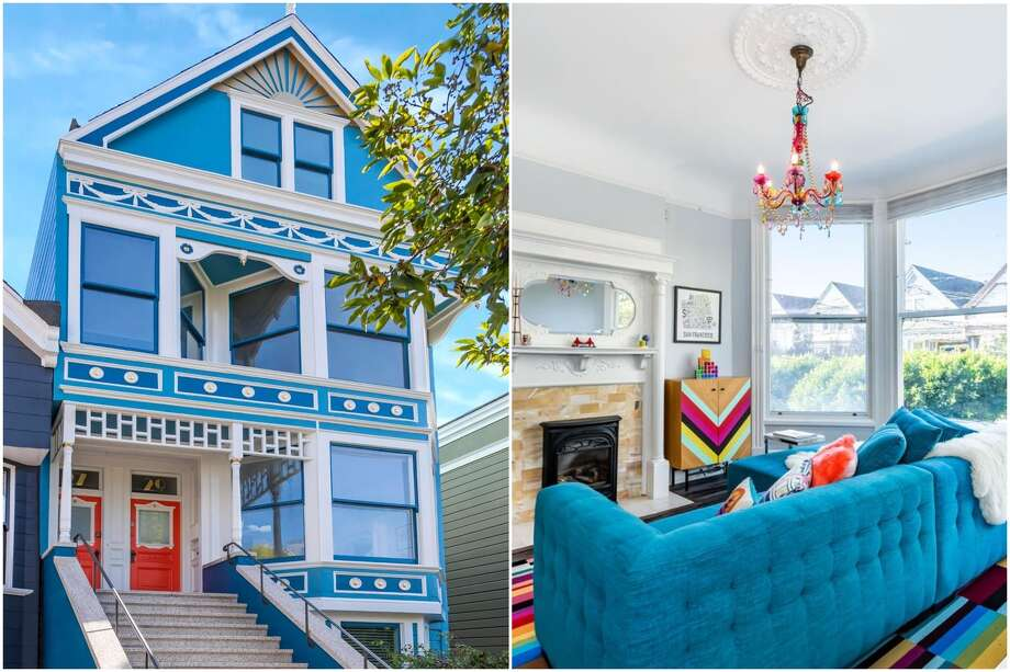 In San Francisco's Castro village, a two-bedroom, two-bathroom Victorian condo at 29 Hartford St. blends tasteful updates with original details. Photo: Courtesy Vanguard Properties