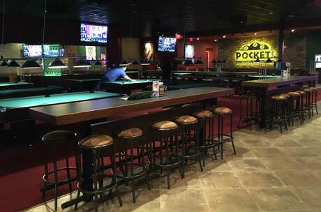 Pockets features 27 pool tables throughout the property that can be rented out by the hour.