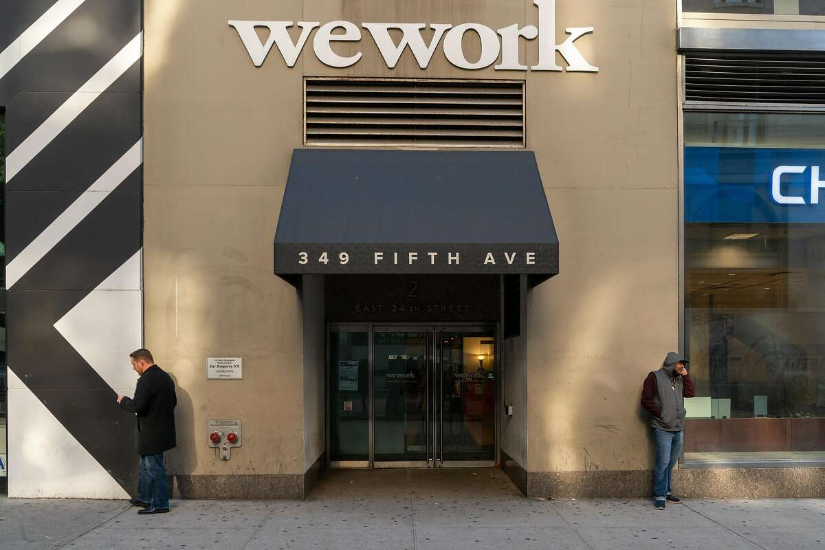 WeWork offices at 349 5th Ave on Nov. 21, 2019, in New York.