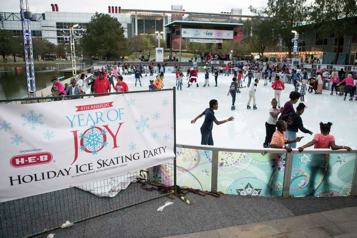 The 4th Annual Year of Joy Holiday Ice Skating Party at Discovery Green