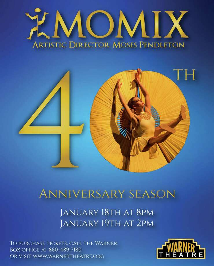 MOMIX celebrates its 40th anniversary with performances at the Warner Theatre in January. Photo: Contributed Photo / MOMIX