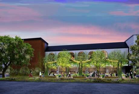 A rendering of Hamsa, a new Israeli restaurant by the trio behind the steakhouse Doris Metropolitan, which is scheduled to open in Rice Village summer of 2020.