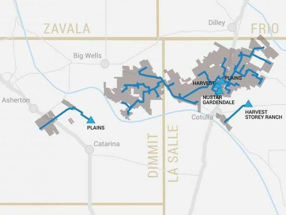 San Antonio pipeline operator Ironwood Midstream has closed a deal to expand its crude oil gathering network in the Eagle Ford Shale of South Texas.  Photo: Ironwood Midstream